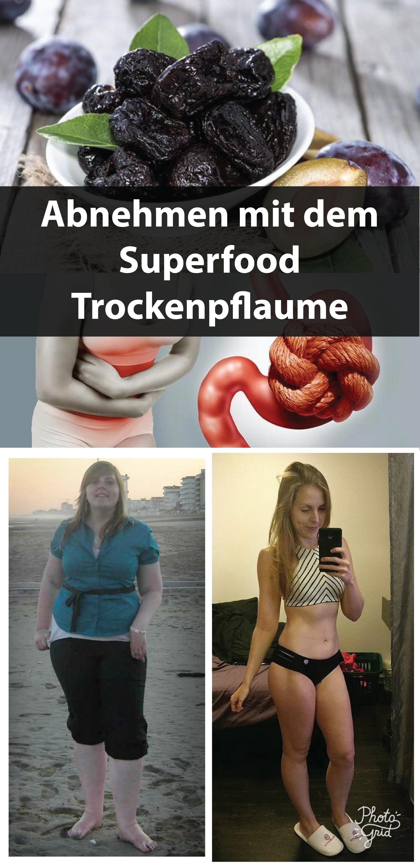 Abnehmen mit dem Superfood Trockenpflaume