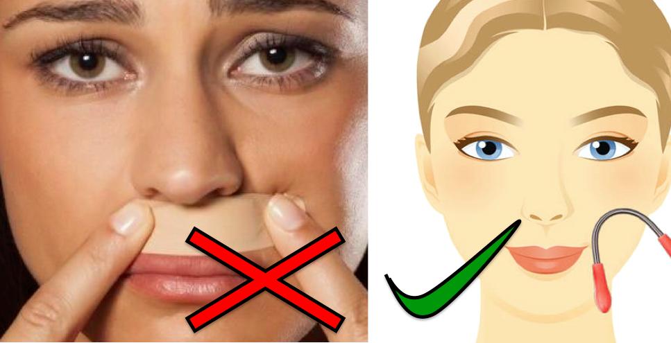 Gesichtshaare Entfernen Frau