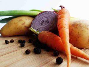 Viele Gemüsesorten enthalten gesunde Kohlenhydrate