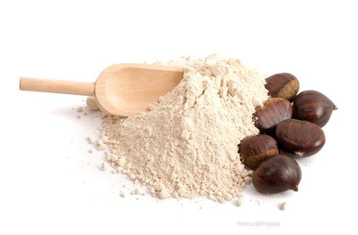 Kastanienmehl - voller Geschmack, glutenfrei und basisch