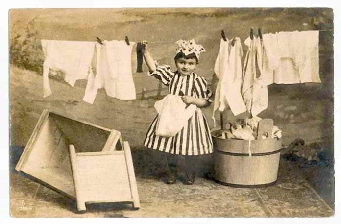 Die Reinigungskraft von Waschsoda