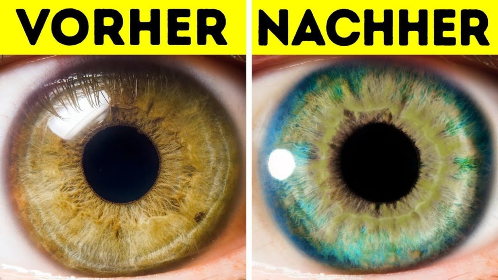 Die 7 seltensten Augenfarben, die Menschen haben können