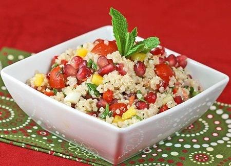 Rezepte mit Quinoa zur Senkung des Cholesterinspiegels