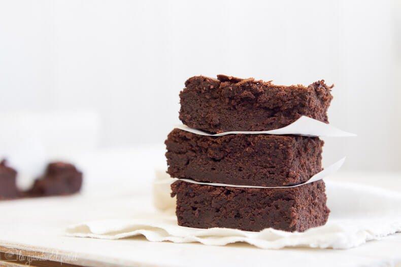 2 Rezepte, um einen glutenfreien Brownie zu machen