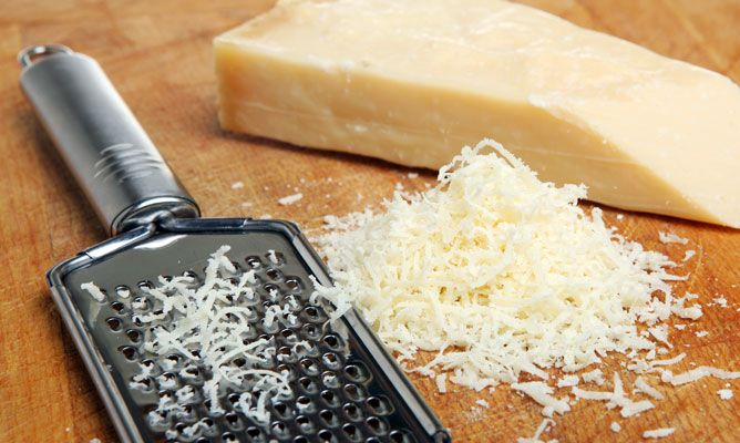 Rezept von überbackenen Kartoffeln mit Käse