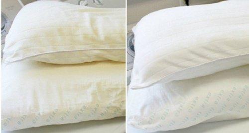 Entdecken Sie, wie Sie Ihr Kissen und Ihre Matratze leicht bleichen können