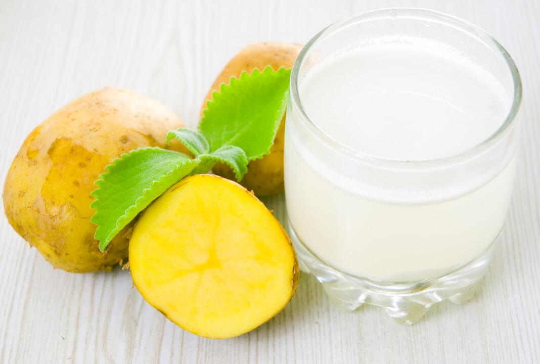 Kartoffel Zitrone