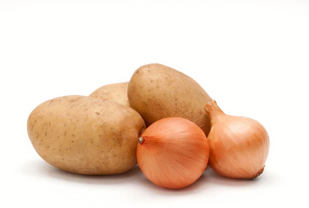 Kartoffel zwiebel