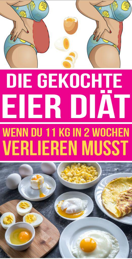 schnell abnehmen mit gekochten eiern