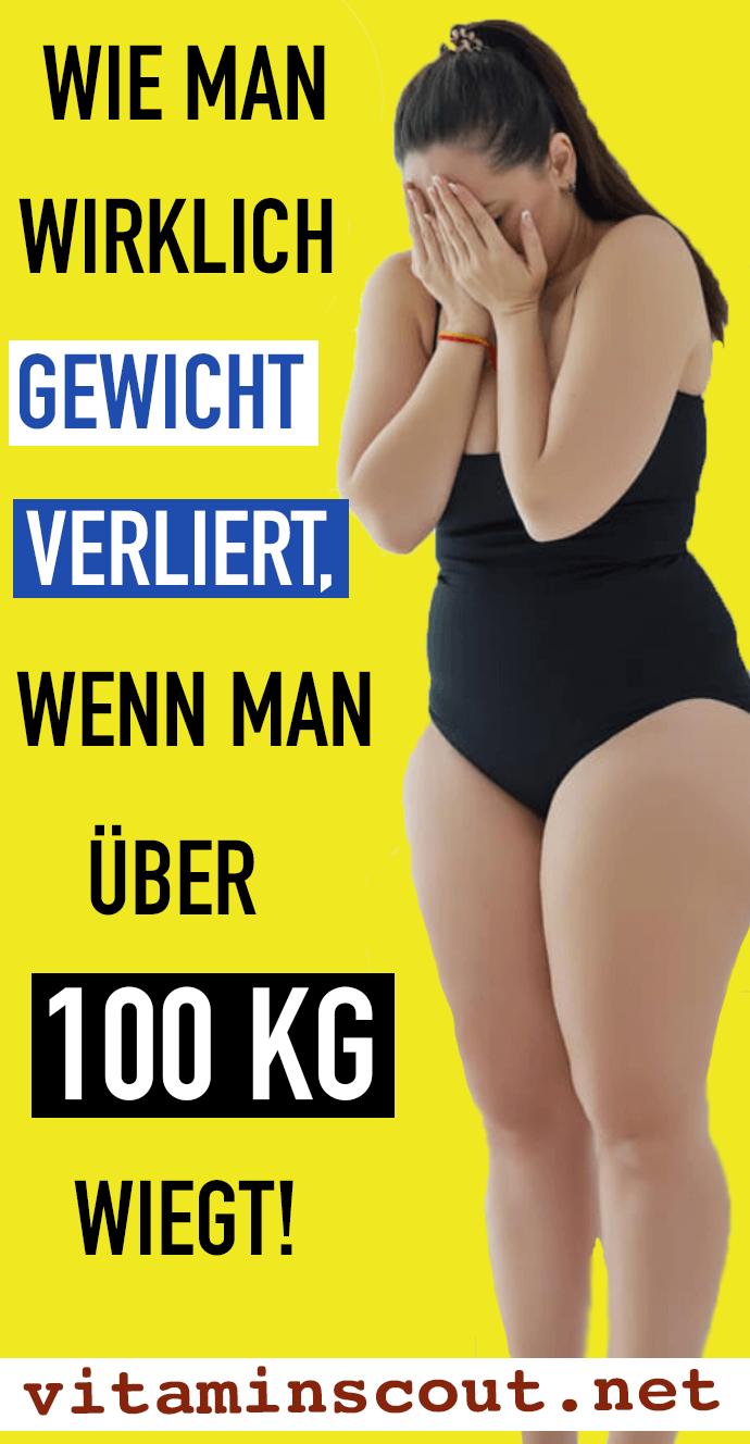 schnell abnehmen bei über 100kg